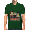 MINIONS T-shirt SUPERNATURAL Dave The Minion detective cartoon character funny Mens Polo