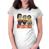 MINIONS T-shirt SUPERNATURAL Dave The Minion detective cartoon character funny Womens Fitted T-Shirt