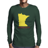 MINNESOTA Mens Long Sleeve T-Shirt