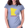 MINNESOTA Womens Fitted T-Shirt