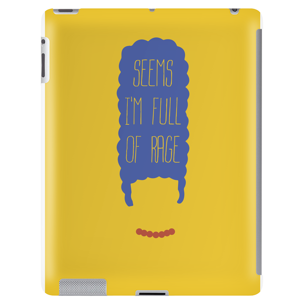 miss blue hair Tablet (vertical)