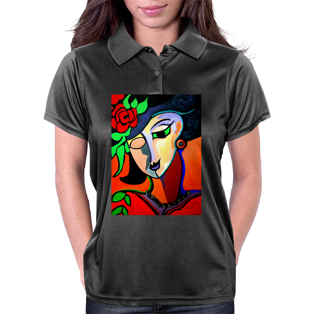 MISS ROSE Womens Polo