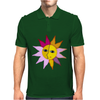 miss sunshine summer face sunset sunrise blue eyes in love star Mens Polo