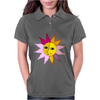 miss sunshine summer face sunset sunrise blue eyes in love star Womens Polo
