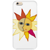 miss sunshine summer star face sunset sunrise blue eyes in love Phone Case