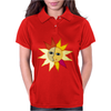 miss sunshine summer star face sunset sunrise blue eyes in love Womens Polo