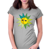 miss sunshine summer sunset sunrise blue eyes star face in love Womens Fitted T-Shirt