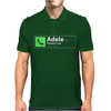 Missed Call Adele Mens Polo