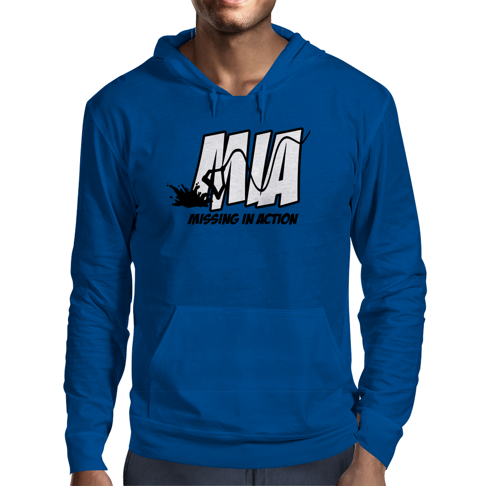 Missing In Action Mens Hoodie