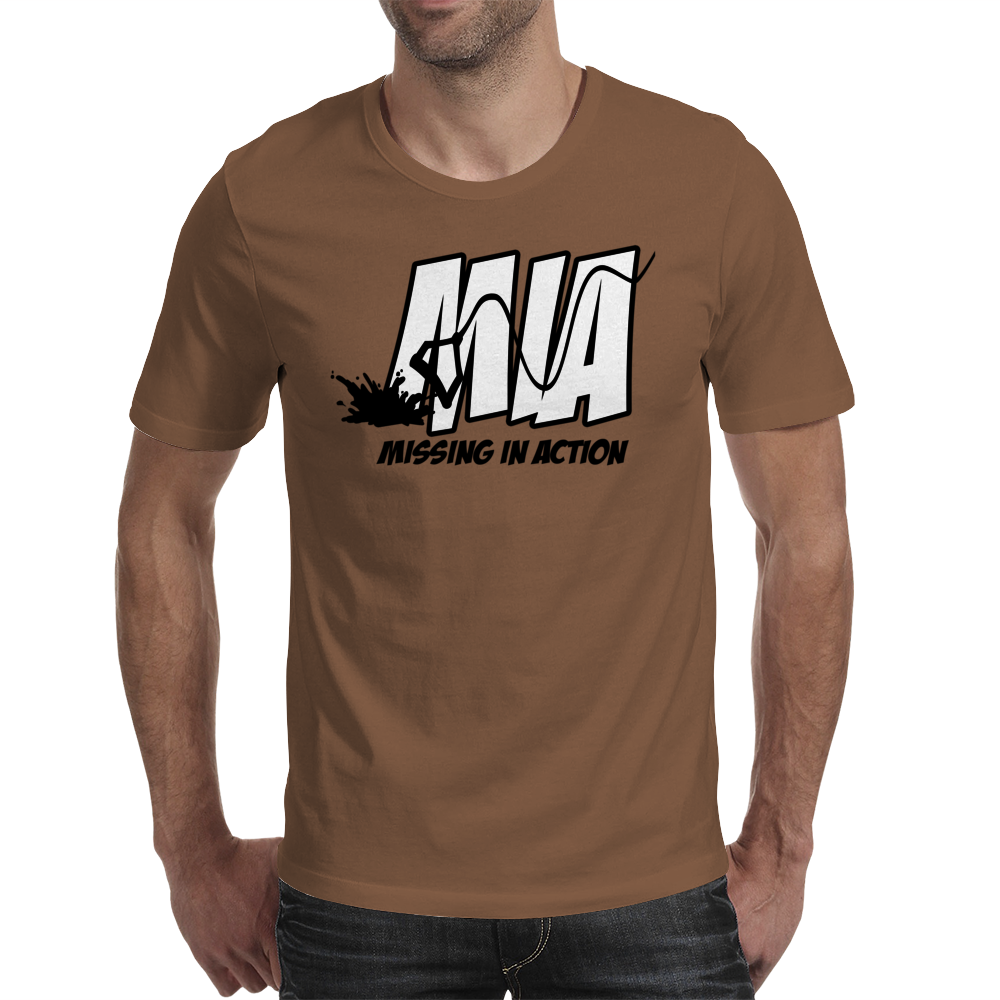 Missing In Action Mens T-Shirt