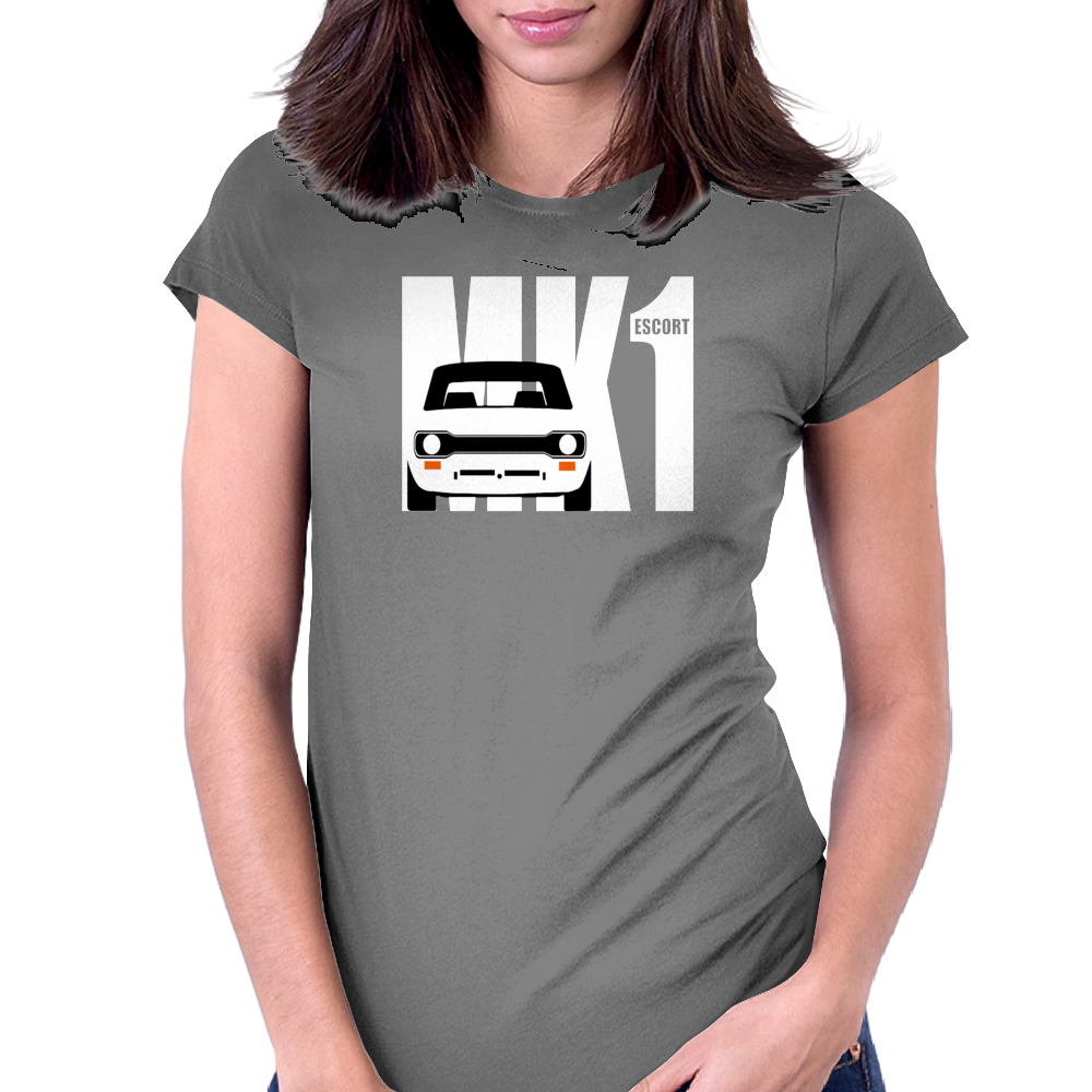 MK 1 FORD ESCORT RS 1800 2000 MEXICO Womens Fitted T-Shirt
