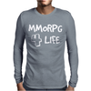 MMORPG 4 Life Mens Long Sleeve T-Shirt