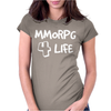 MMORPG 4 Life Womens Fitted T-Shirt