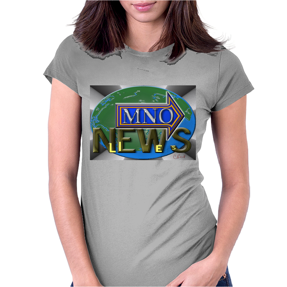 MNO News Womens Fitted T-Shirt