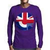 Mod Union Jack, Ideal Gift, Birthday Present Mens Long Sleeve T-Shirt