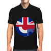 Mod Union Jack, Ideal Gift, Birthday Present Mens Polo