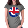 Mod Union Jack, Ideal Gift, Birthday Present Womens Fitted T-Shirt