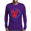 Mod VW Volkswagen DUB Logo Mens Long Sleeve T-Shirt