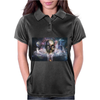 Modern Horror Dead Skull Halloween Womens Polo