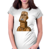 Moderne Robot ts Womens Fitted T-Shirt