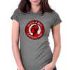 Mohawk Gasoline vintage sign crystal version Womens Fitted T-Shirt