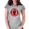 Mohawk Gasoline vintage sign flat version Womens Fitted T-Shirt