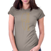 Molon Labe Outlined Womens Fitted T-Shirt