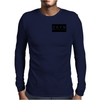 M.o.M// Black Mens Long Sleeve T-Shirt