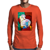 MOMMY AND ME  PICASSO Mens Long Sleeve T-Shirt