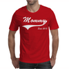 Mommy Since 2015 Mens T-Shirt