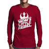 Mom's Little Rebel Mens Long Sleeve T-Shirt