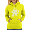 Mom's Little Rebel Womens Hoodie