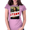 MONA LISA RELOADED Womens Fitted T-Shirt