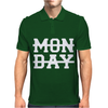 MONDAY FUNNY Mens Polo