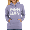 MONDAY FUNNY Womens Hoodie