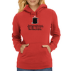 Monday morning at work Before coffee I hate everybody. After Coffee I feel good about hating everybo Womens Hoodie