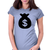 Money Bag Womens Fitted T-Shirt
