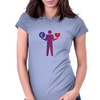 Money or love / Euro Womens Fitted T-Shirt
