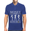 Money Over Bitches Graphic Mens Polo