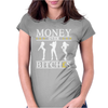 Money Over Bitches Graphic Womens Fitted T-Shirt