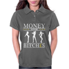 Money Over Bitches Graphic Womens Polo