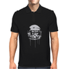 Monkey Astronaut Mens Polo