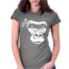 Monkey Face 2 Womens Fitted T-Shirt