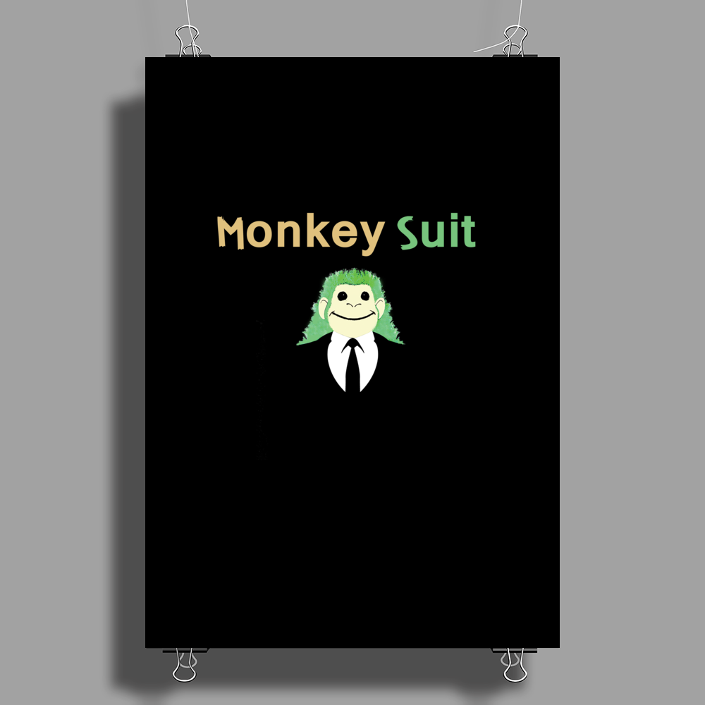 Monkey Suit Poster Print (Portrait)