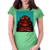 Monkeybrains in green Womens Fitted T-Shirt