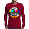 Monoscope Signal Mens Long Sleeve T-Shirt