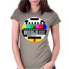 Monoscope Signal Womens Fitted T-Shirt