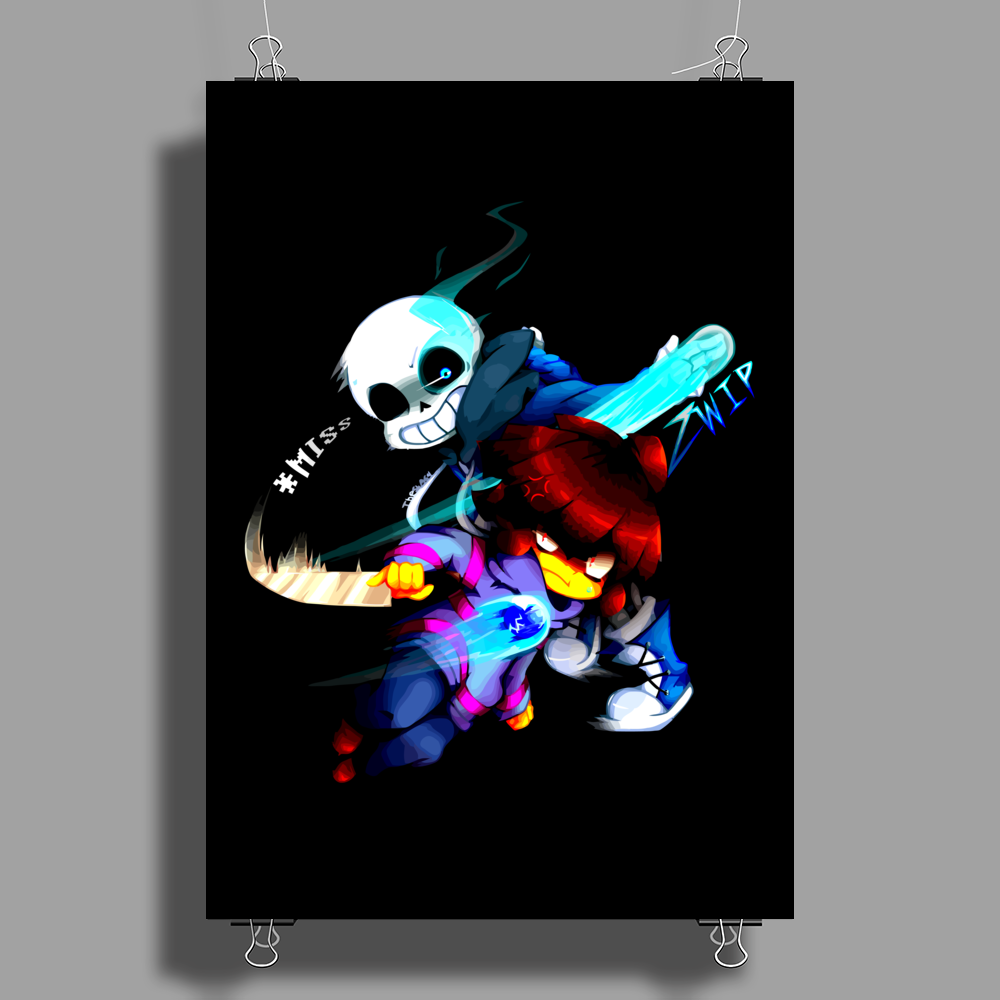 monster gift Poster Print (Portrait)