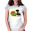 monster green Womens Fitted T-Shirt