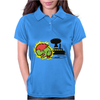monster green Womens Polo